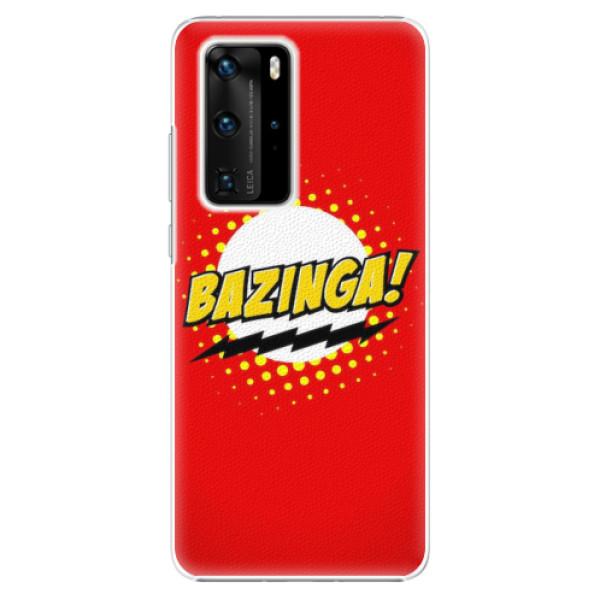 Plastové pouzdro iSaprio - Bazinga 01 - Huawei P40 Pro