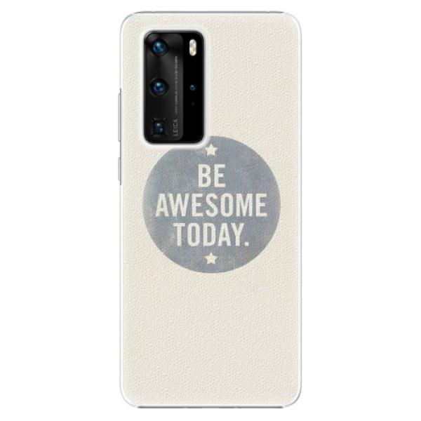 Plastové pouzdro iSaprio - Awesome 02 - Huawei P40 Pro