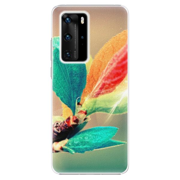 Plastové pouzdro iSaprio - Autumn 02 - Huawei P40 Pro