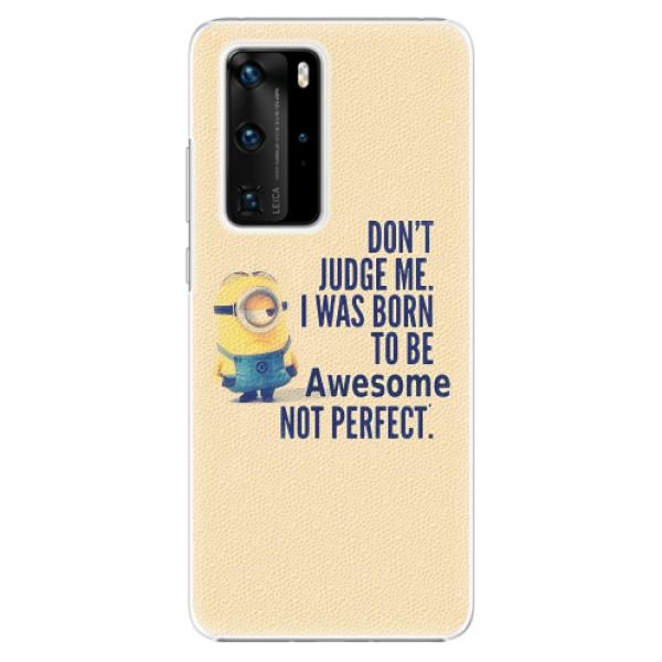 Plastové pouzdro iSaprio - Be Awesome - Huawei P40 Pro