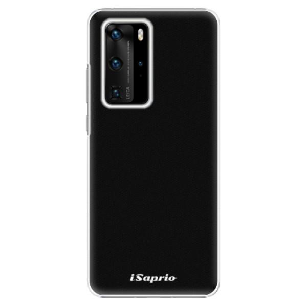 Plastové pouzdro iSaprio - 4Pure - černý - Huawei P40 Pro