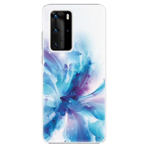 Plastové pouzdro iSaprio - Abstract Flower - Huawei P40 Pro
