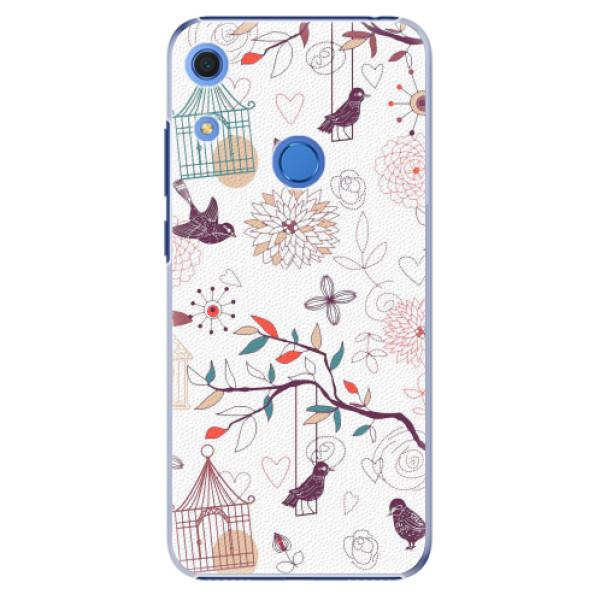 Plastové pouzdro iSaprio - Birds - Huawei Y6s