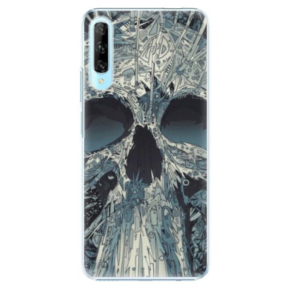 Plastové pouzdro iSaprio - Abstract Skull - Huawei P Smart Pro