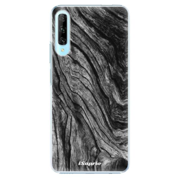 Plastové pouzdro iSaprio - Burned Wood - Huawei P Smart Pro