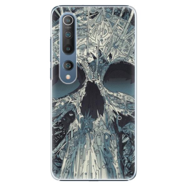 Plastové pouzdro iSaprio - Abstract Skull - Xiaomi Mi 10 / Mi 10 Pro