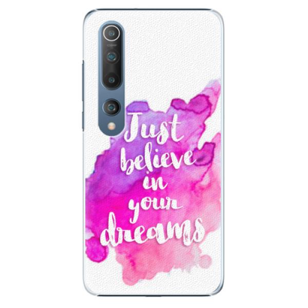 Plastové pouzdro iSaprio - Believe - Xiaomi Mi 10 / Mi 10 Pro