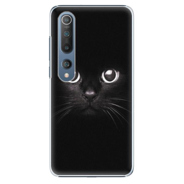 Plastové pouzdro iSaprio - Black Cat - Xiaomi Mi 10 / Mi 10 Pro