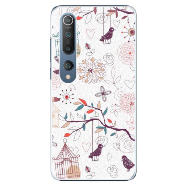 Plastové pouzdro iSaprio - Birds - Xiaomi Mi 10 / Mi 10 Pro