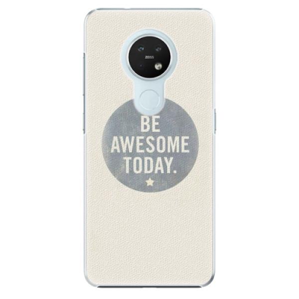 Plastové pouzdro iSaprio - Awesome 02 - Nokia 7.2