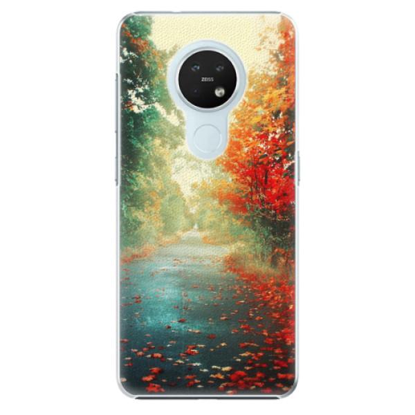 Plastové pouzdro iSaprio - Autumn 03 - Nokia 7.2