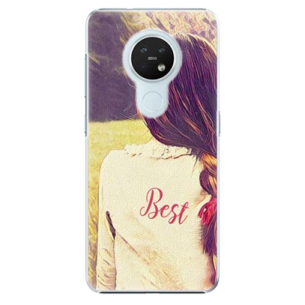 Plastové pouzdro iSaprio - BF Best - Nokia 7.2