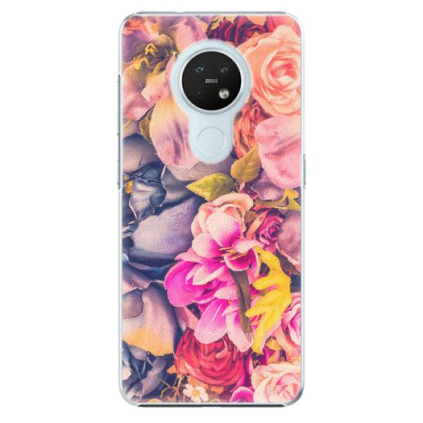 Plastové pouzdro iSaprio - Beauty Flowers - Nokia 7.2