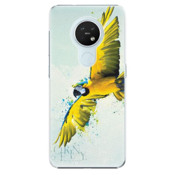 Plastové pouzdro iSaprio - Born to Fly - Nokia 7.2