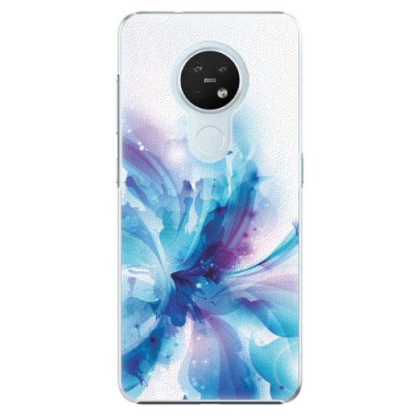 Plastové pouzdro iSaprio - Abstract Flower - Nokia 7.2