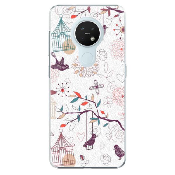 Plastové pouzdro iSaprio - Birds - Nokia 7.2