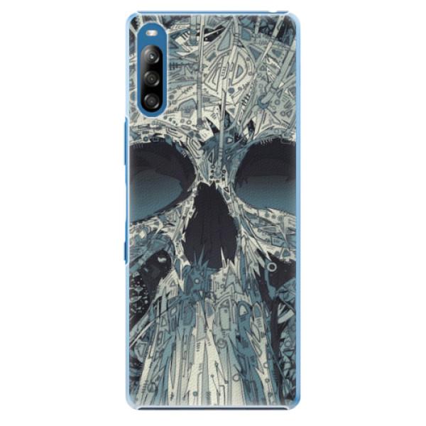 Plastové pouzdro iSaprio - Abstract Skull - Sony Xperia L4