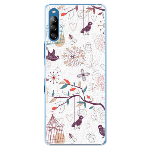 Plastové pouzdro iSaprio - Birds - Sony Xperia L4