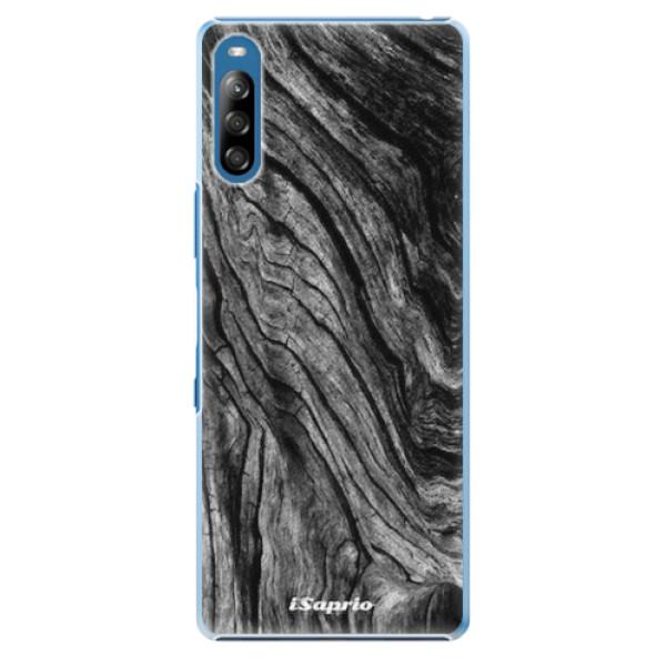 Plastové pouzdro iSaprio - Burned Wood - Sony Xperia L4