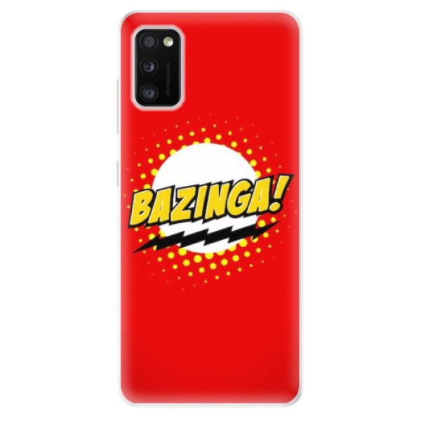 Odolné silikonové pouzdro iSaprio - Bazinga 01 - Samsung Galaxy A41