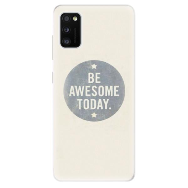 Odolné silikonové pouzdro iSaprio - Awesome 02 - Samsung Galaxy A41