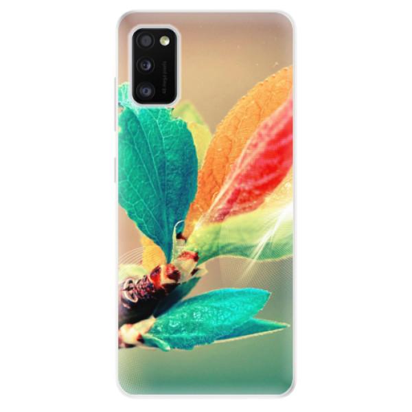 Odolné silikonové pouzdro iSaprio - Autumn 02 - Samsung Galaxy A41