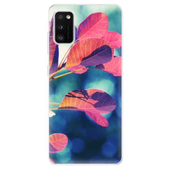 Odolné silikonové pouzdro iSaprio - Autumn 01 - Samsung Galaxy A41