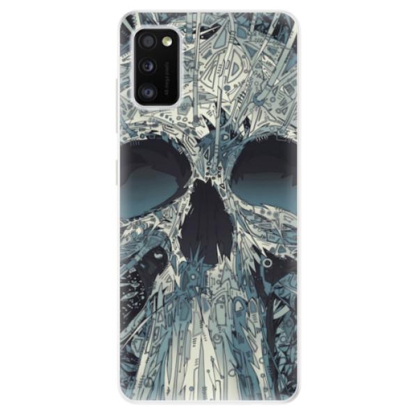 Odolné silikonové pouzdro iSaprio - Abstract Skull - Samsung Galaxy A41
