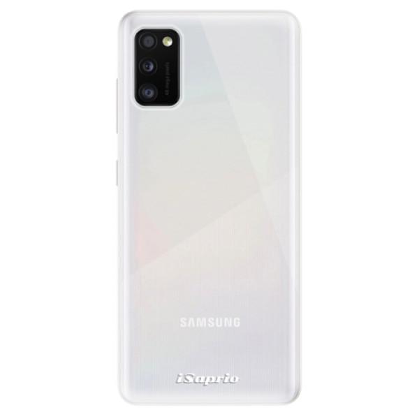 Odolné silikonové pouzdro iSaprio - 4Pure - mléčný bez potisku - Samsung Galaxy A41