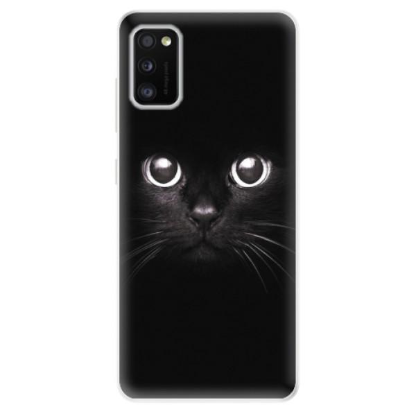 Odolné silikonové pouzdro iSaprio - Black Cat - Samsung Galaxy A41