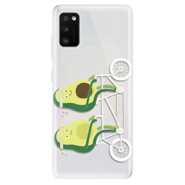 Odolné silikonové pouzdro iSaprio - Avocado - Samsung Galaxy A41