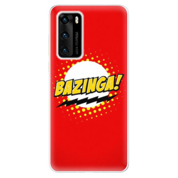 Odolné silikonové pouzdro iSaprio - Bazinga 01 - Huawei P40