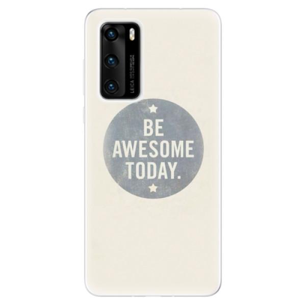 Odolné silikonové pouzdro iSaprio - Awesome 02 - Huawei P40