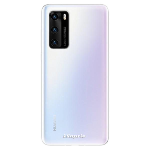 Odolné silikonové pouzdro iSaprio - 4Pure - mléčný bez potisku - Huawei P40