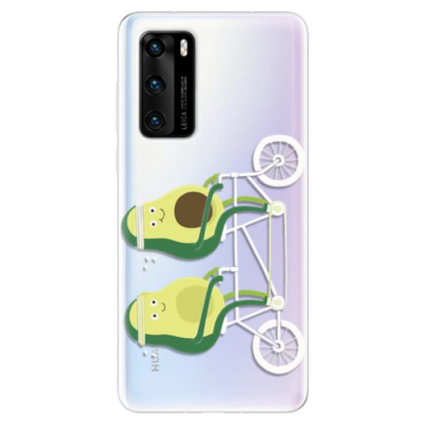 Odolné silikonové pouzdro iSaprio - Avocado - Huawei P40
