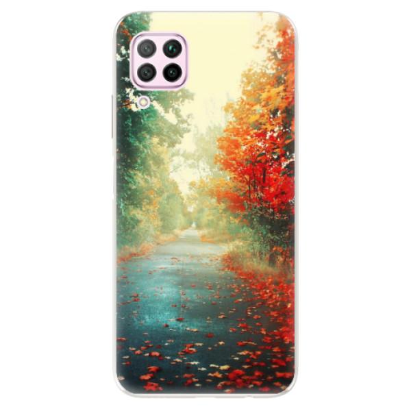 Odolné silikonové pouzdro iSaprio - Autumn 03 - Huawei P40 Lite