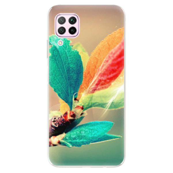 Odolné silikonové pouzdro iSaprio - Autumn 02 - Huawei P40 Lite