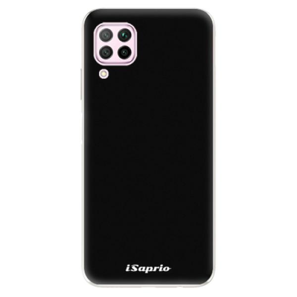Odolné silikonové pouzdro iSaprio - 4Pure - černý - Huawei P40 Lite