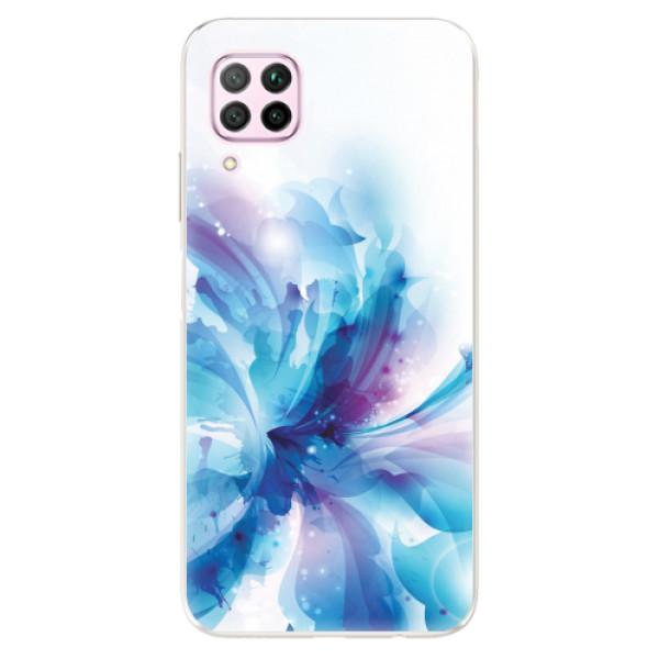 Odolné silikonové pouzdro iSaprio - Abstract Flower - Huawei P40 Lite