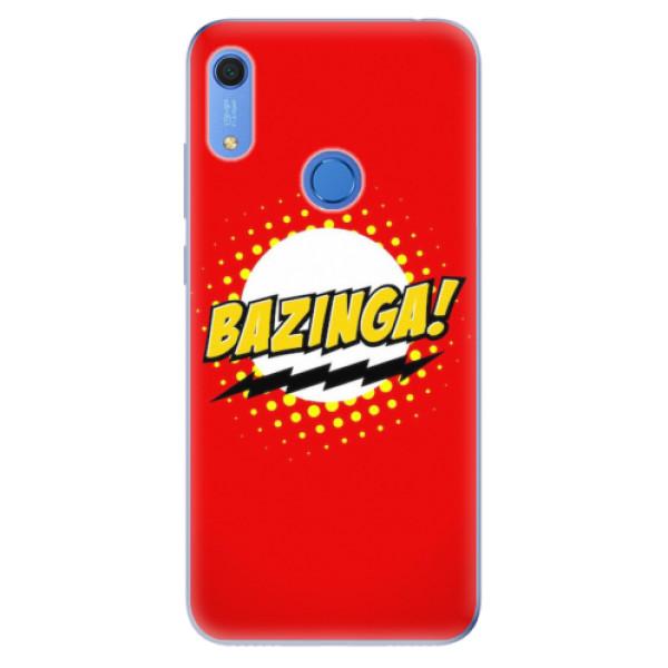 Odolné silikonové pouzdro iSaprio - Bazinga 01 - Huawei Y6s