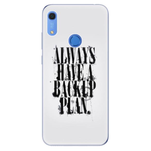 Odolné silikonové pouzdro iSaprio - Backup Plan - Huawei Y6s