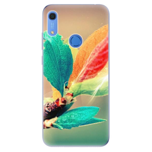 Odolné silikonové pouzdro iSaprio - Autumn 02 - Huawei Y6s