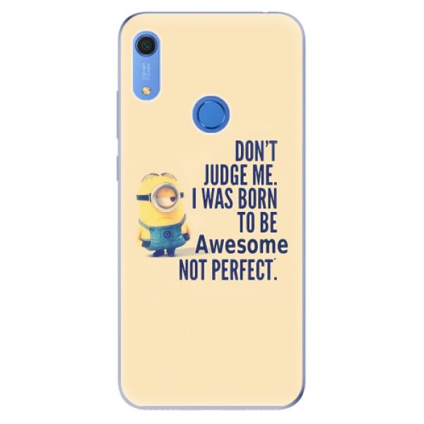 Odolné silikonové pouzdro iSaprio - Be Awesome - Huawei Y6s
