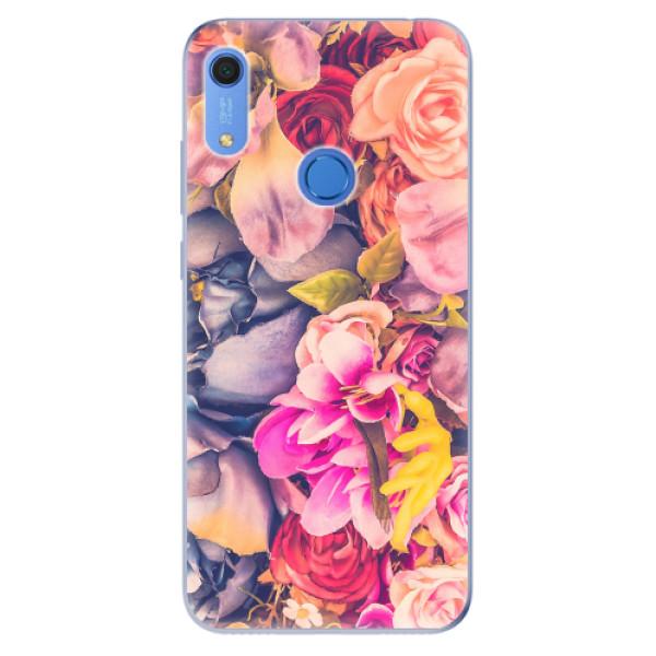 Odolné silikonové pouzdro iSaprio - Beauty Flowers - Huawei Y6s
