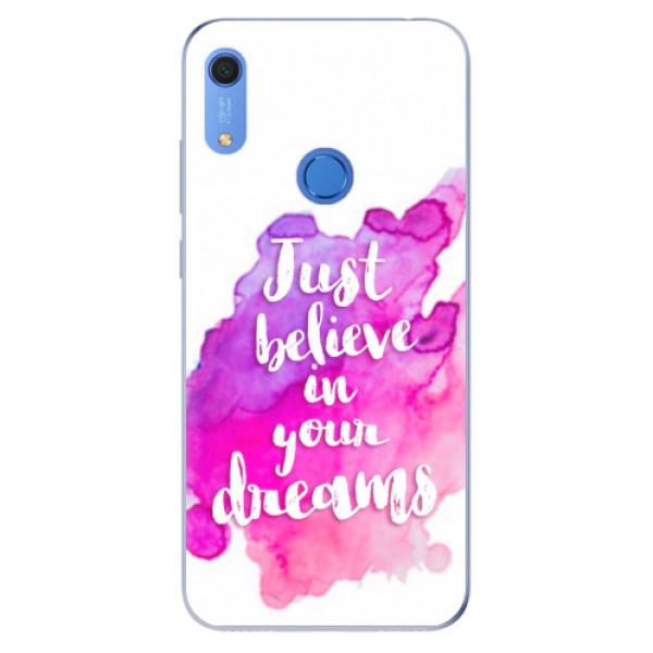 Odolné silikonové pouzdro iSaprio - Believe - Huawei Y6s