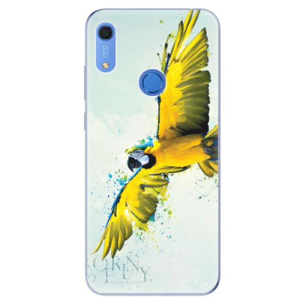 Odolné silikonové pouzdro iSaprio - Born to Fly - Huawei Y6s