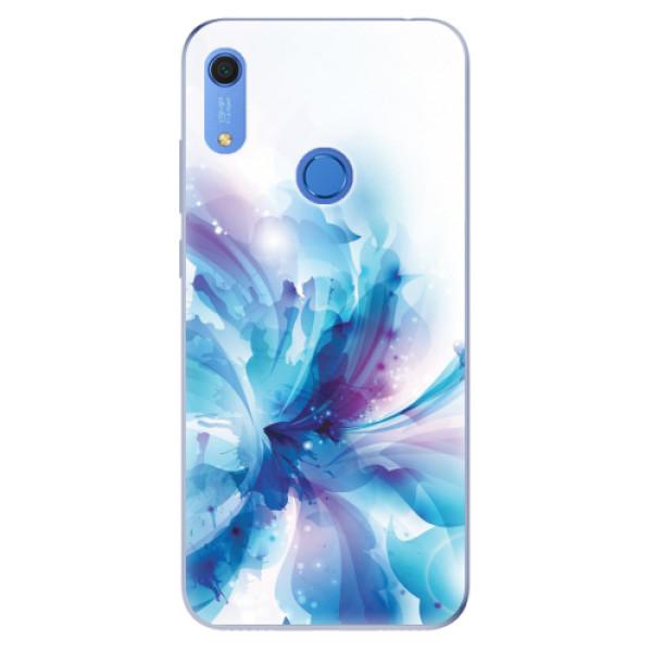 Odolné silikonové pouzdro iSaprio - Abstract Flower - Huawei Y6s