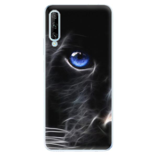 Odolné silikonové pouzdro iSaprio - Black Puma - Huawei P Smart Pro