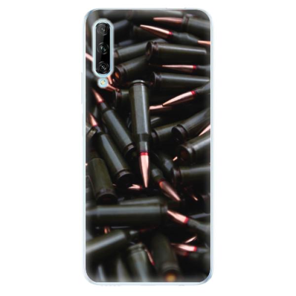 Odolné silikonové pouzdro iSaprio - Black Bullet - Huawei P Smart Pro