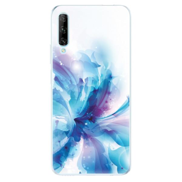 Odolné silikonové pouzdro iSaprio - Abstract Flower - Huawei P Smart Pro